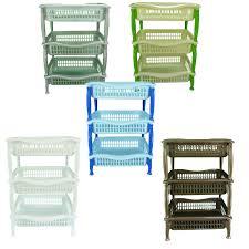 3 Tier Storage Rack Home Design Ideas and
