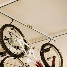 Two Bicycle Bike Stand Racor Garage Floor Storage Organizer Cycling