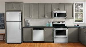 Samsung Counter Depth Refrigerator Home Depot by Kitchen Frigidaire Stainless Steel Appliance Package Stainless