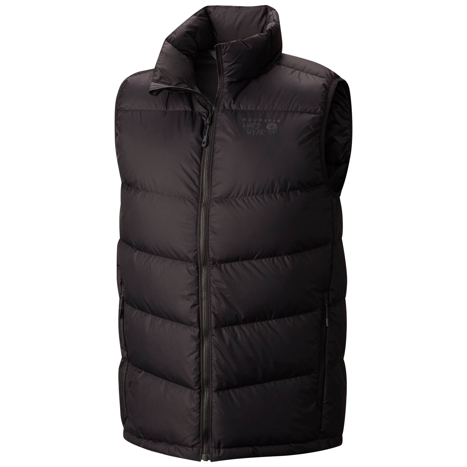 Mountain Hardwear: Men's Ratio Down Vest - Black