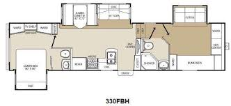 Fifth Wheel Bunkhouse Floor Plans by New 2013 Coachmen Rv Chaparral 330fbh Fifth Wheel At Fun Town Rv