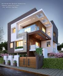 100 Designs Of Modern Houses Residential Exterior By Ar Sagar Morkhade Vdraw