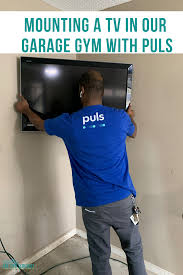 Using Puls To Mount A TV In Our Garage Gym With Coupon Code ...