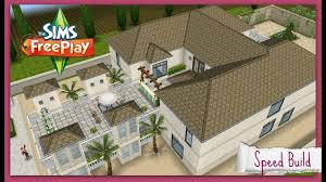 Sims Freeplay Second Floor by Speed Build French Chateau Inspired Youtube