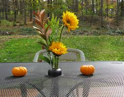 Patio Tablecloth With Umbrella Hole by 14 Best Patio Table Centerpieces Images On Pinterest Floral