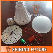 diy 9w led bulb shell kit e27 high brightness led lighting