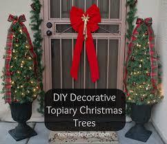 Christmas Outdoor Topiary Drivertalentclub