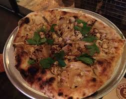 The Flower Power At Savoy Is A White Pizza With Cauliflower Garlic Oil Caramelized