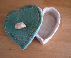 pate a sel une boîte à bijoux en pâte à sel un cadeau personnalisé pour la