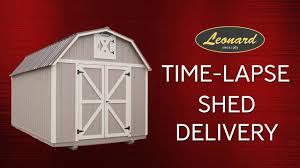 Time Lapse Video Of Leonard Storage Shed Delivery - YouTube Photo Gallery Win A She Shed Leonard Playhouse New 8x12 Mini Sagebrush Front View Playshed Buildings Truck Accsories Ck Sheds And Carports At Powhatan 1865 Dorset Rd Va Landscape Trailer Basket Outdoor Goods Anchor Carport Replaced After Contractor Left Job Unfinished Viewer Called 12 On Twitter What Can Do For You Bring Us 20 X Metal Garage Best 2018 And Youtube Amazoncom Bak39120 Revolver X2 Hard Roll Up Tonneau Cover Automotive Get Quote Auto Parts