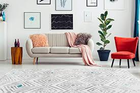 teppiche teppich rauten design kästchen muster wohnzimmer