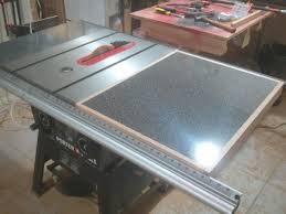 Sawstop Cabinet Saw Used by Adding A Table Saw Extension Wing Jays Custom Creations