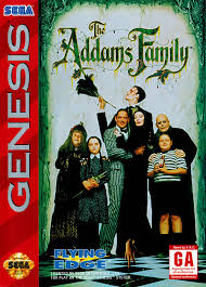 The Addams Family Box Shot for Genesis GameFAQs