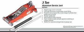 3 Ton Aluminum Floor Jack by Nos Nos Aluminum Floor Jack 3 Ton Capacity Auto Featured The