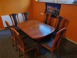 esszimmer tisch ausziehbar stühle esszimmer holztisch braun stühl