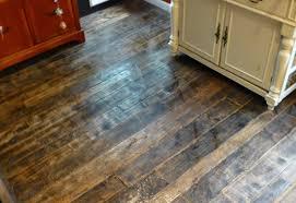 barnwood and bangles reclaimed wood kitchen floor