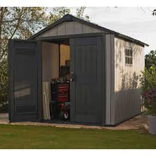 Keter 10x8 Stronghold Shed by Lifetime Brighton 10 U0027 X 8 U0027 Side Entry Shed