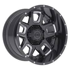 100 20 Inch Truck Rims Gear Alloy 743BM Armor TireBuyer