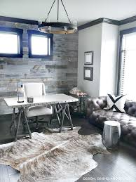 Industrial Modern Rustic Office Home Decor Love The Grey Tones