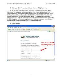 Attrs Help Desk Fax Number by Defense Travel System Dts B Co 1 185th