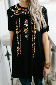 best 25 black tunic ideas on pinterest tunic tops black