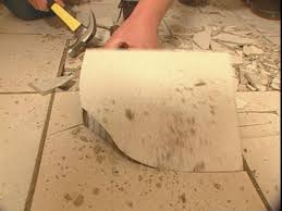 amazing of remove tile floor from concrete the best way to remove
