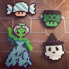 Halloween Perler Bead Templates by 3532 Best Perler Beads Images On Pinterest Mom Diy And Art