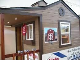 idaho wood sheds boise home and garden show youtube