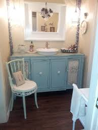 Shabby Chic White Bathroom Vanity by Shabby Chic Bathrooms On A Budget Brown Wood Modern Double Sink