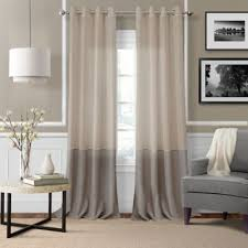 buy linen grommet curtain panels from bed bath beyond