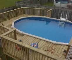Above Ground Pool Ladder Deck Attachment by Best Swimming Pool Deck Ideas
