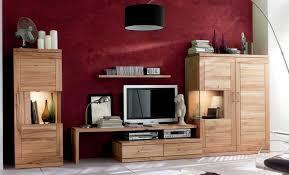 wohnwand wohnzimmerwand wohnzimmer tv lowboard highboard kernbuche massiv lanatura