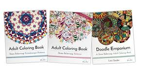 Adult Coloring Books Patterns Collection 1 Or 3 Pack