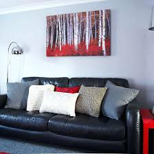 Red Brown And Black Living Room Ideas by Living Room Wonderful Grey Red And Black Living Room Red Black