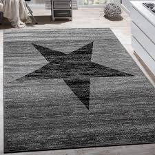 designer teppich muster grau