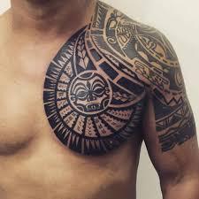 Maori Chest Tattoo Designs By Janser