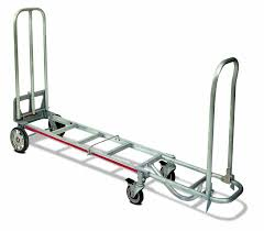 100 4 Wheel Hand Truck Magline STK8AA1 Aluminum Foldable Loop Le