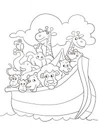Childrens Free Coloring Pages Bible Creation For Kids Printable Your Of Animals Stories