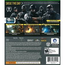 siege xbox one rainbow six siege xbox one pre owned best pre owned