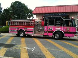 Pink Fire Truck? Yes, Please. | Vehicle Graphics Ideas | Pinterest ...