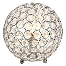 Lamps Plus Westminster Co by Elegant Designs Crystal Ball Table Lamp Walmart Com