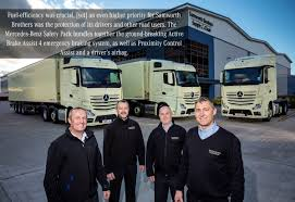 Samworth Brothers Enters 2019 With Breakthrough Fleet Of 18 Mercedes ...