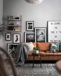 Brown Couch Living Room Design by The 25 Best Scandinavian Living Rooms Ideas On Pinterest