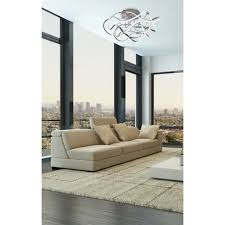 led deckenleuchte geschwungen wellenform wolke modern wohnzimmerle dimmbar über wandschalter
