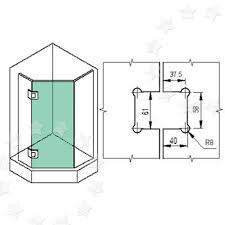 Mepla Cabinet Hinges Australia by Glass Door Hinge For Inset Doors Bathroom Shower Polished 135º Ebay