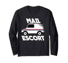 100 Who Makes Mail Trucks Amazoncom Hilarious Escort Postal Carrier Letter Truck Shirts