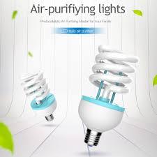 air purifier bulb wall light air fresher sanitizer cleaner