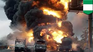 Nigeria Tanker Explosion: Runaway Truck Rams Into Bus Station And ... Two Men In Critical Cdition After Being Severely Burned Tanker Tanker Truck Explosion Shuts Down Inrstate Truck Explosion In Italy Kills 2 Injures Up To 70 Seattle Wa Italian Premier Visits Victims Of Fiery Bologna Tanker Crash Lagos Prosecute Owner Driver Raw Fire Explosions Shut Down Highway Youtube Ball Two Shuts I70 Over 150 Dead As Overturned Fuel Explodes Pakistan 570 News Dozens