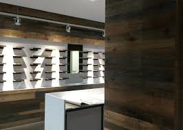 Retail Wall Display Shelves Reclaimed Wood Store Ikea Ideas