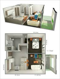 100 Small One Bedroom Apartments Why Do We Need 3D House Plan Before Starting The Project
